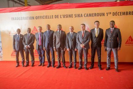 Cameroun : Sika, le chimiste suisse du bâtiment, inaugure une unité de production de plus d'un milliard FCFA