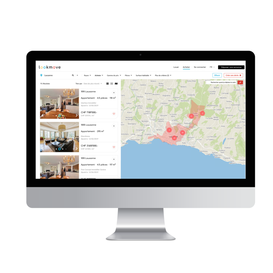 Lookmove: la digitalisation au service de l'immobilier