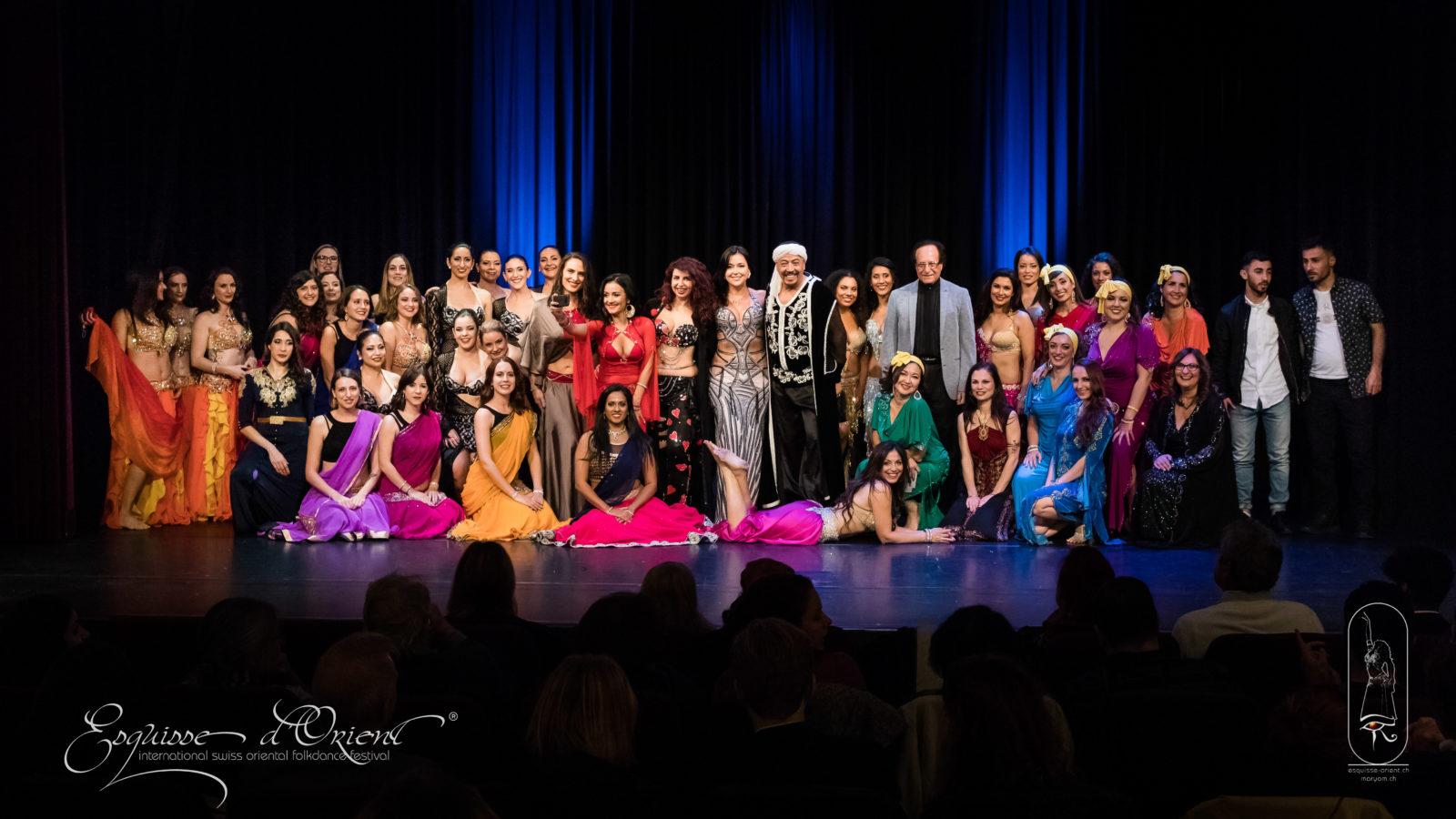 Esquisse d'Orient, Festival International des danses d'Orient, Fribourg 10è anniversaire, 17 au 20 octobre 2019