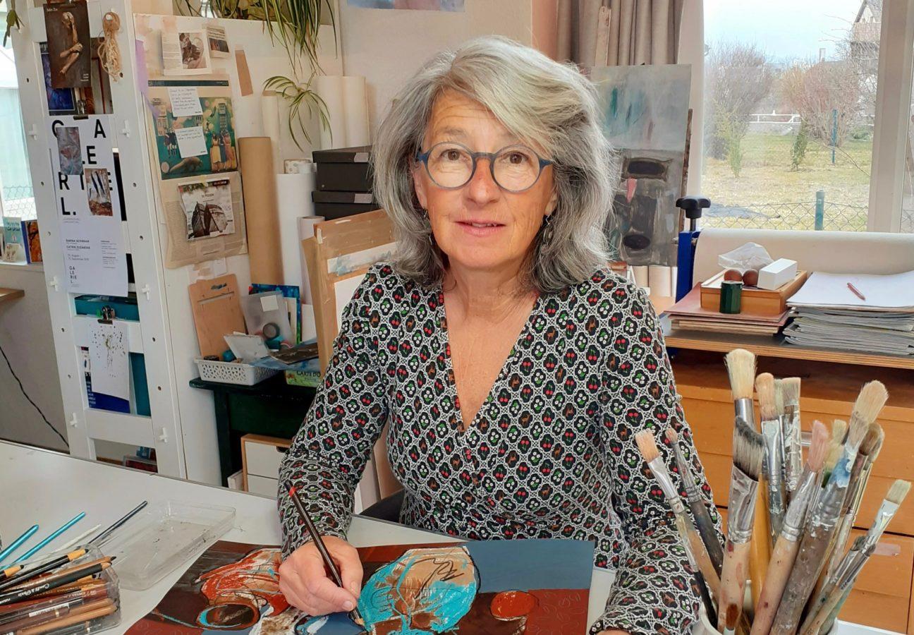 Interview de Catherine Zumkeller: «Cette oeuvre est une bonne ambassadrice pour représenter mon travail»
