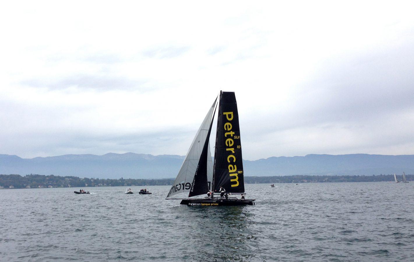 Grand Prix Petercam à la Nautique de Genève