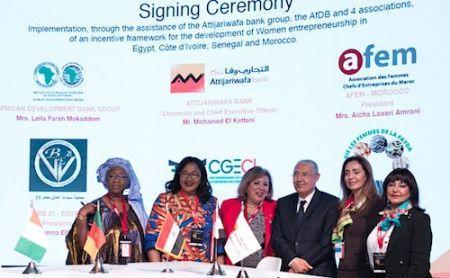 La BAD et le Groupe Attijariwafa bank s'associent pour soutenir les femmes entrepreneures en Afrique