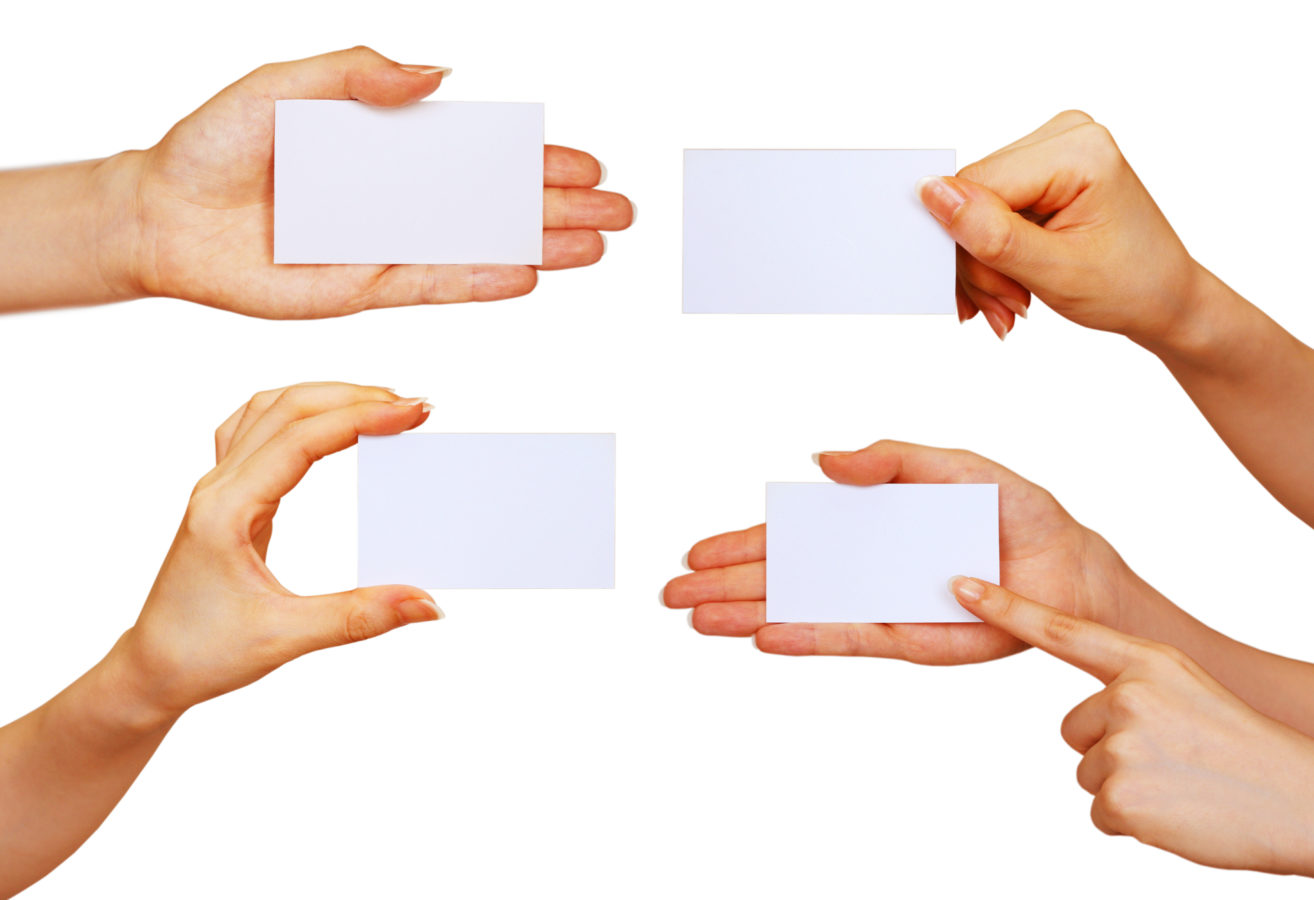 L'impact des cartes de visites sur l'image d'une  entreprise