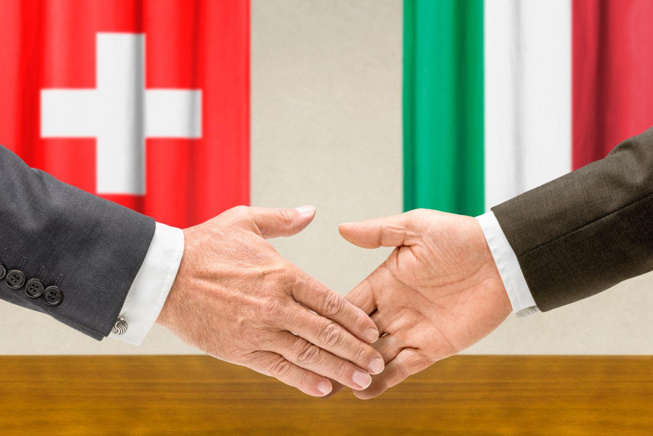Premier round de négociations fiscales et financières entre la Suisse et l'Italie