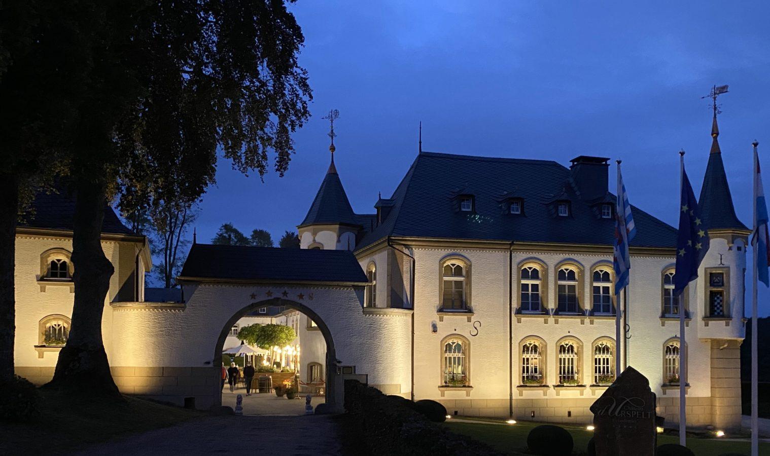 Le château d'Urspelt au Luxembourg