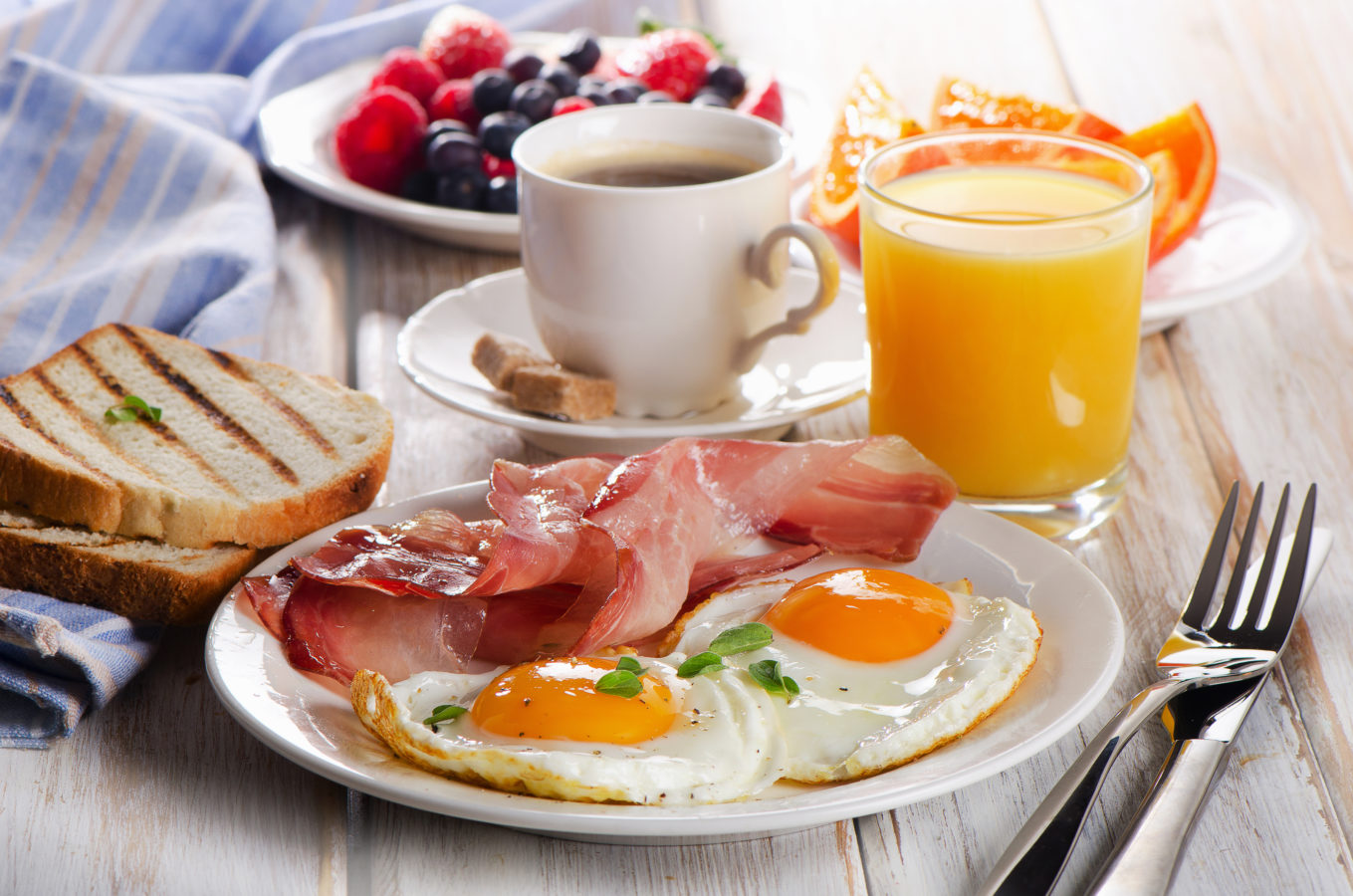 Les bienfaits du petit-déjeuner sur une journée de travail