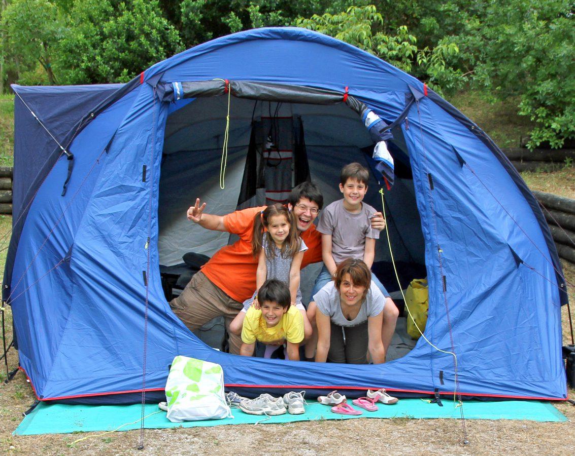 Succès du camping malgré le taux de change et la pluie
