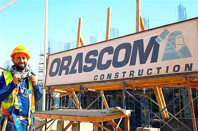 Egypte: Orascom Construction annonce avoir signé des contrats pour près de 650 millions $ au cours du deuxième trimestre 2018