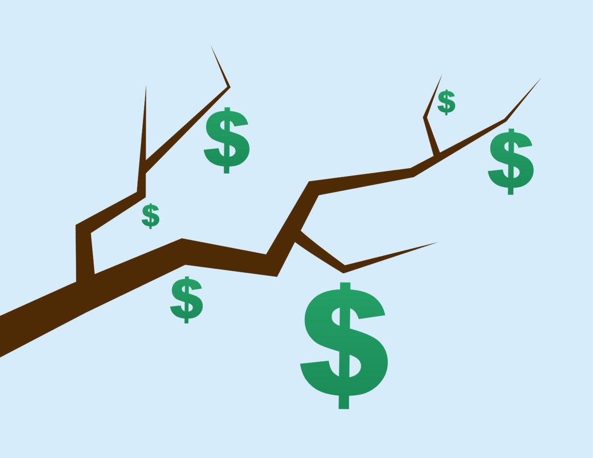Grands écarts entre les branches économiques