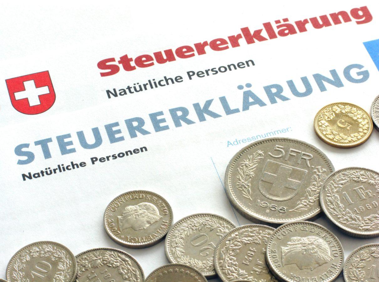 Disparité des charges des impôts cantonaux, communaux et paroissiaux