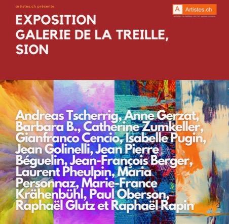 C'est le Valais qui accueillera la prochaine exposition de printemps d'Artistes.ch