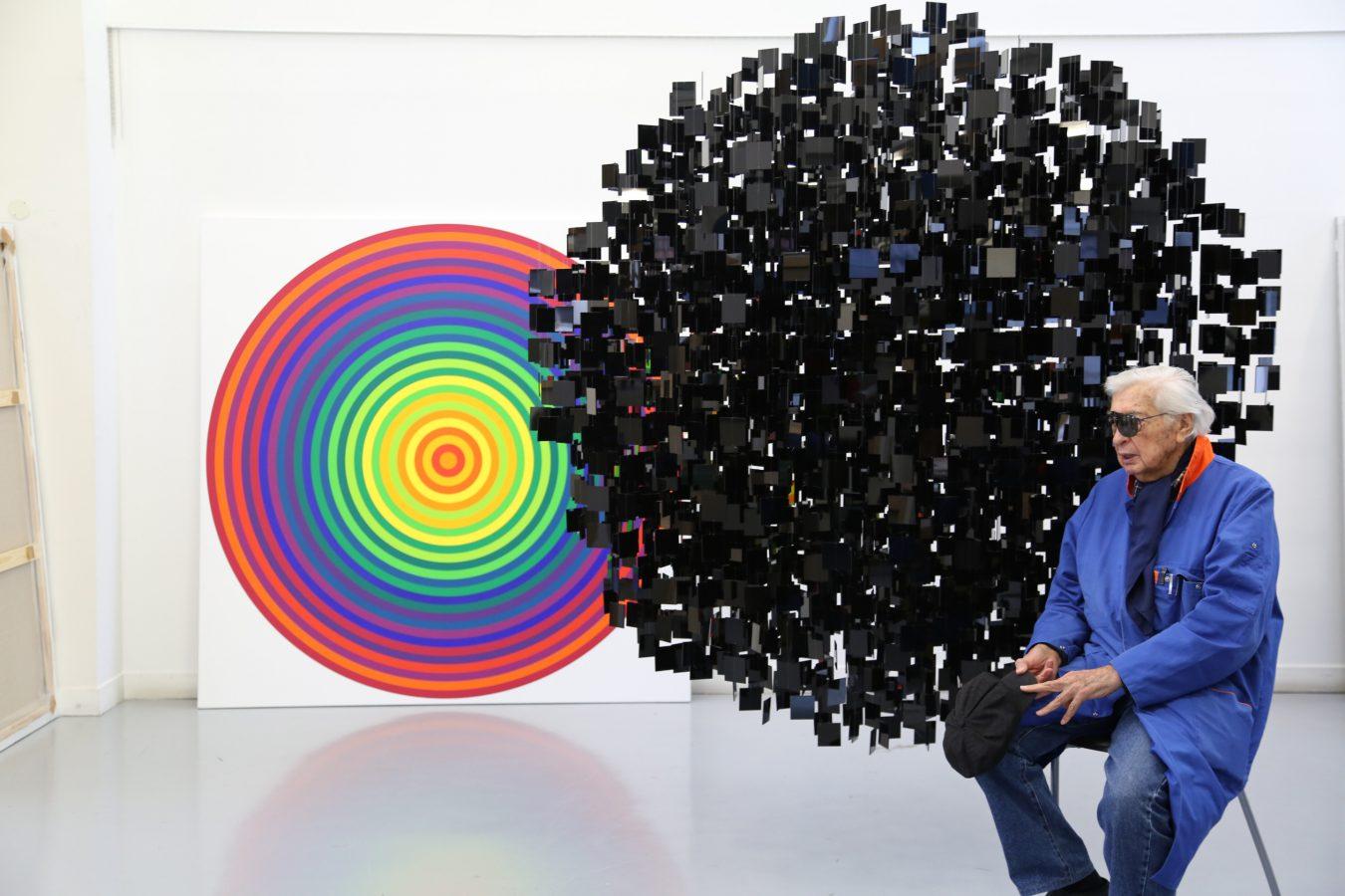 Le grand artiste Julio Le Parc, hôte d'honneur de BRAFA 2017