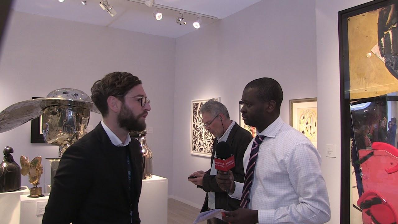 BRAFA 2019 – Quel avenir pour le marché de l'art contemporain ? Damien Simonelli de l'Opera Gallery