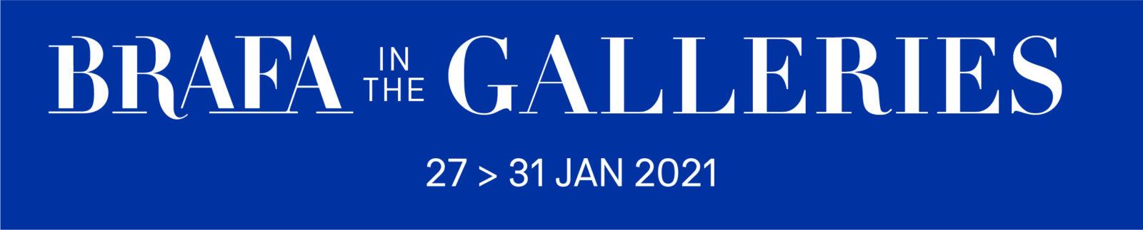 La BRAFA 2021 aura lieu en galeries