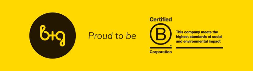 L'agence de communication B+G obtient la certification B Corporation®.