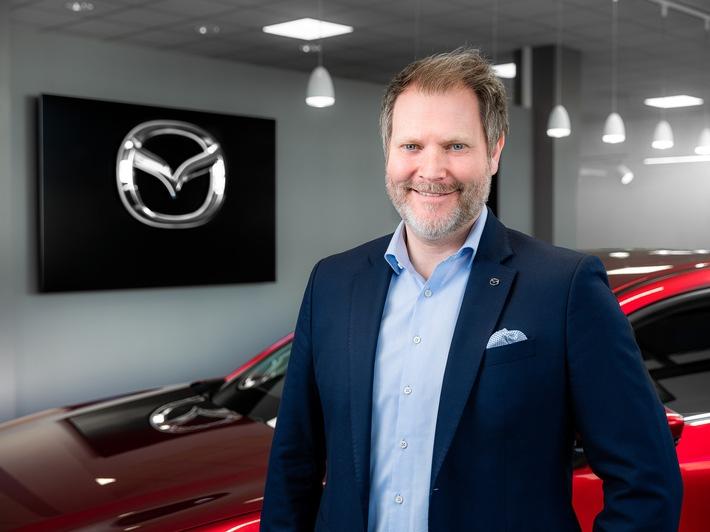 Matthias Walker, nommée Managing Director de Mazda (Suisse)