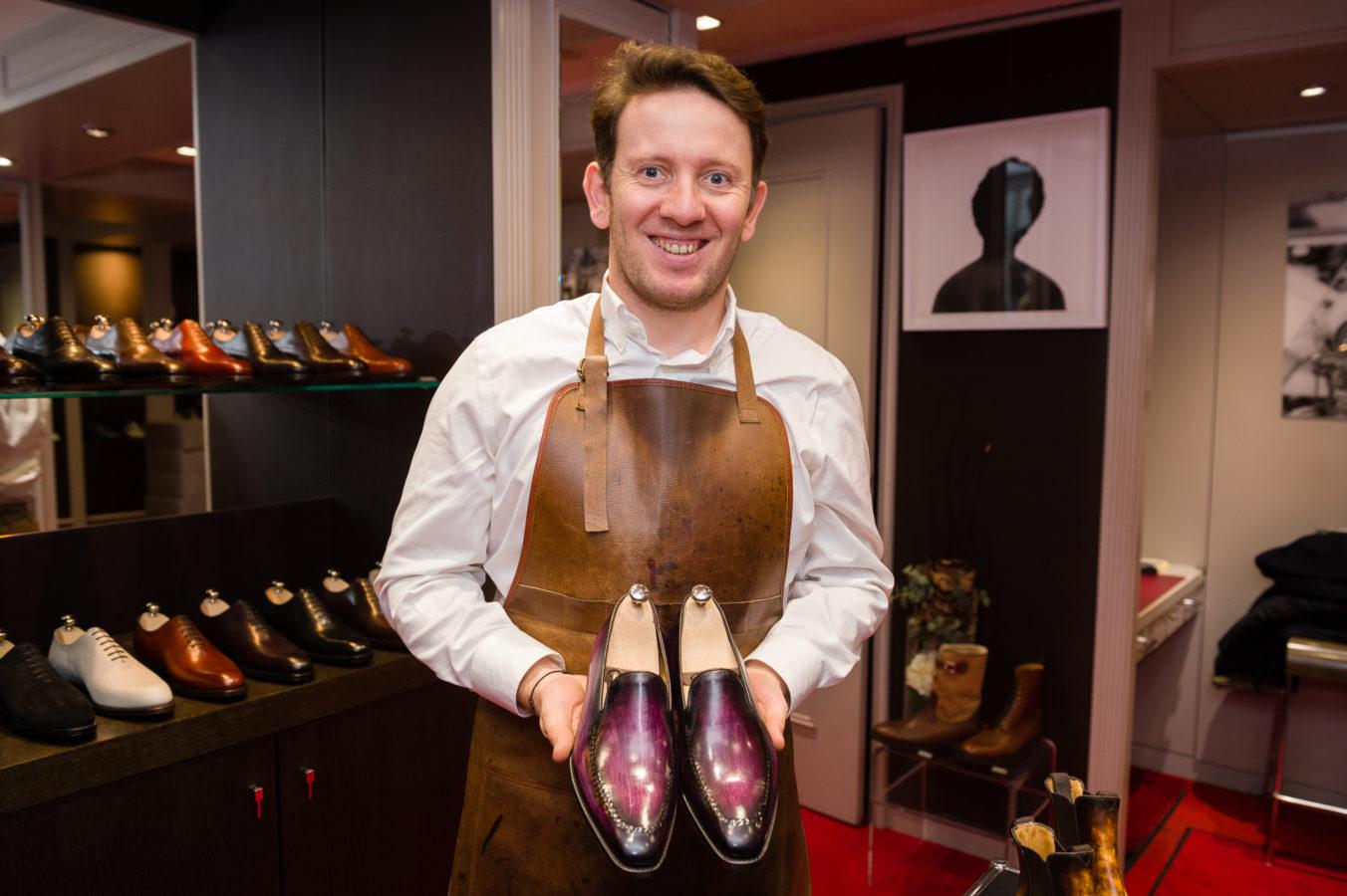 Des chaussures artisanales aux lignes contemporaines