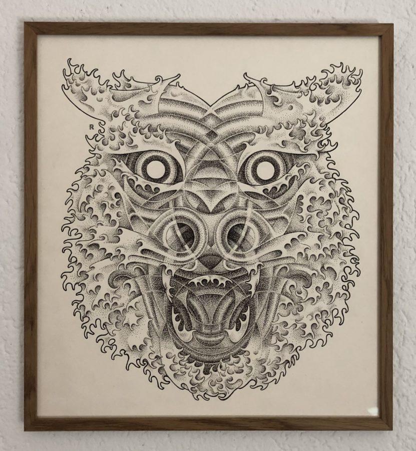 Interview Raphël Rapin: «Le processus souvent volontairement lent et répétitif permet de faire évoluer mon dessin»