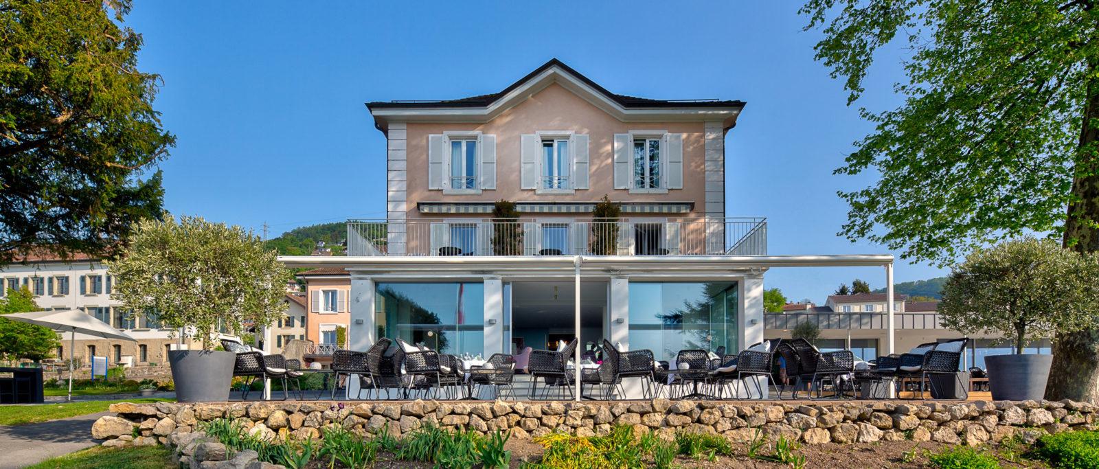 Avec ses chambres rénovées et cuisines flambant neuves, l'Hôtel du Léman est prêt pour la haute saison !