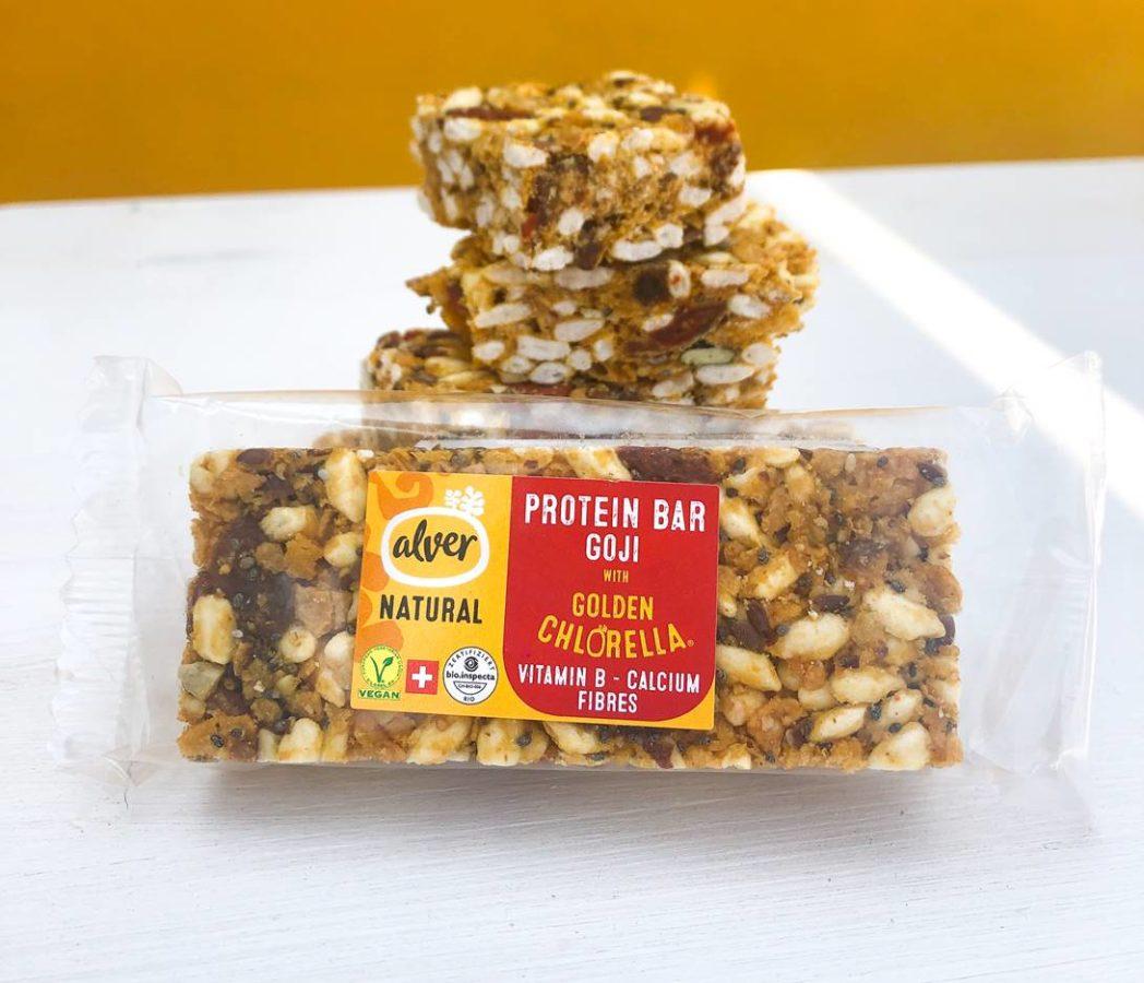 De l'or protéiné en barre avec la nouvelle «Alver Protein Bar» !