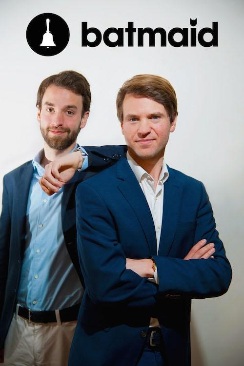 Eric Laudet et Andreas Schollin-Borg - Fondateurs de Batmaid