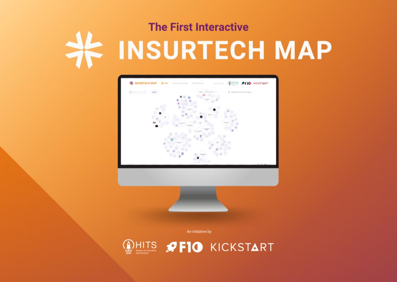 Lancement de la première plateforme interactive InsurTech Map