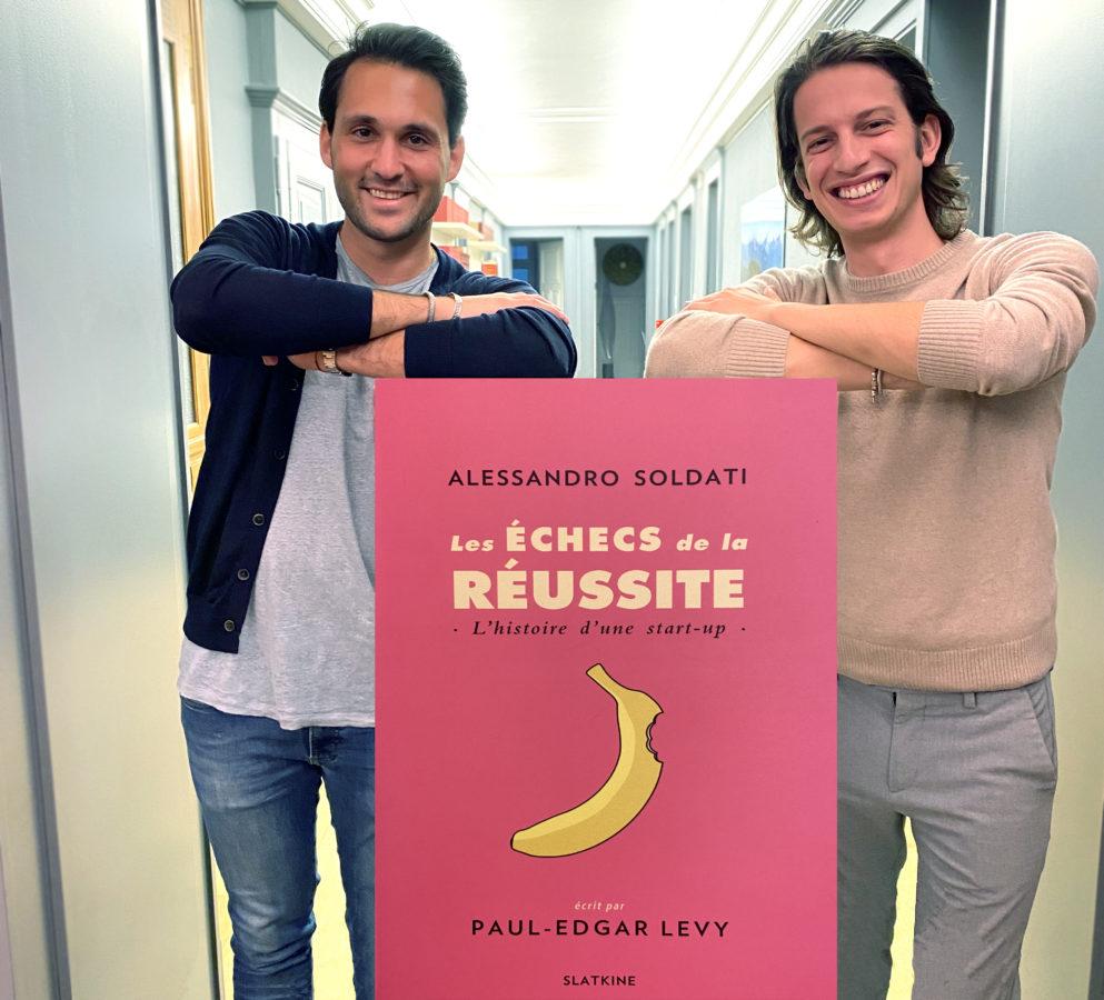 Interview d'Alessandro Soldati et Paul-Edgar: «L'un des objectifs de ce livre est de montrer qu'un échec est une étape»