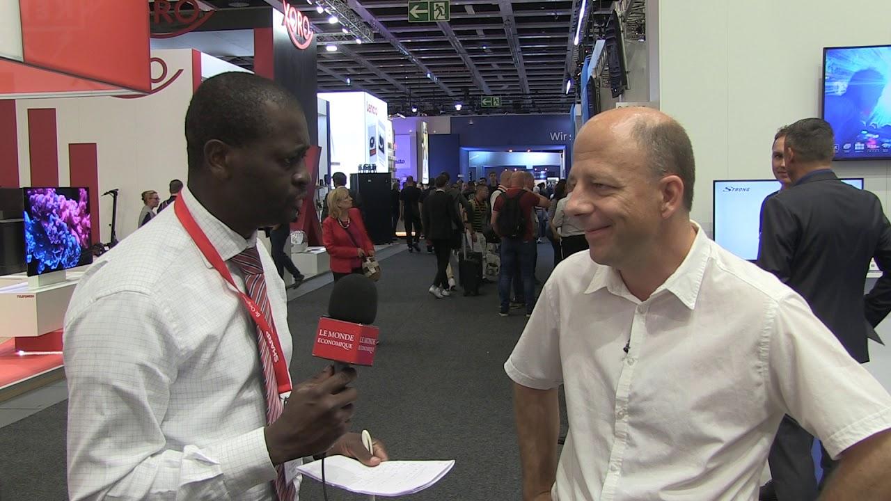 Michel Deriaz – Découvrez quelle innovation a trouvé ce chercheur lors du salon IFA de Berlin