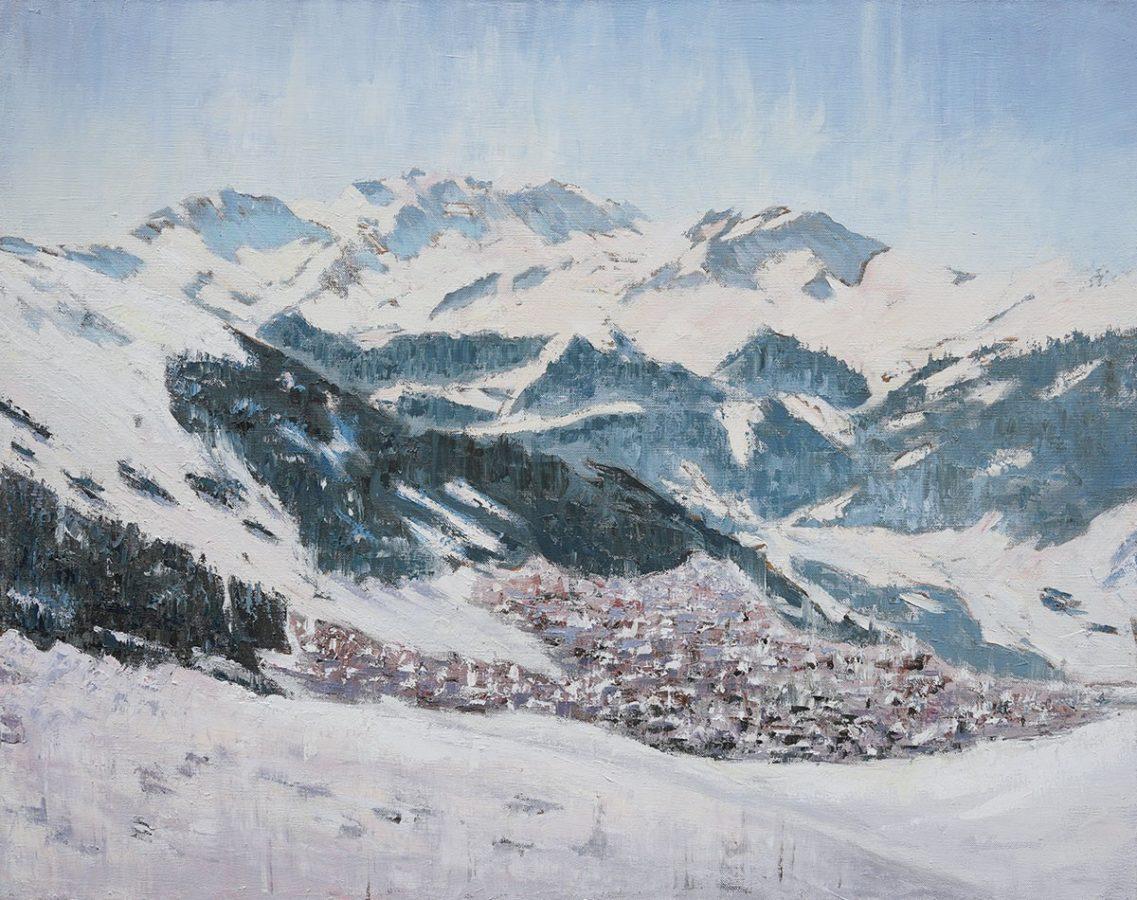 Exposition Noël Hémon – Infinité de blanc, peintures récentes