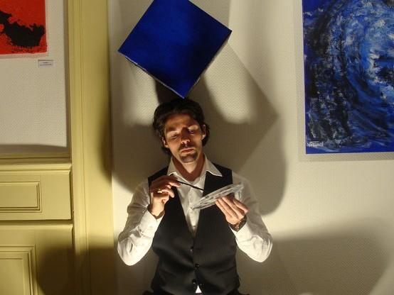 Interview de Raphaël Glutz, auteur et artiste peintre sous les pseudonymes de Peter Rage et de Von Raphaël
