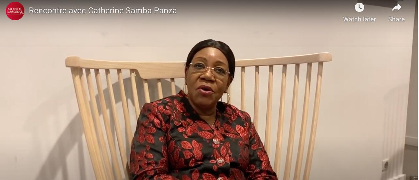 Rencontre avec Catherine Samba Panza