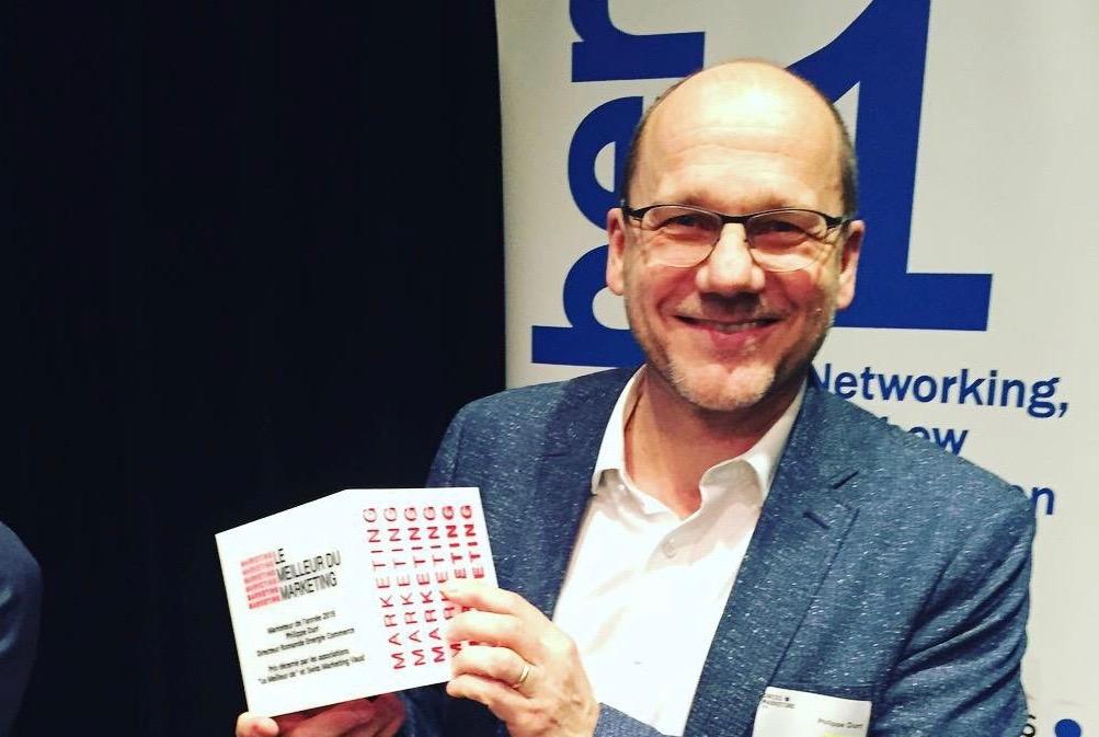 Le CUBE du « Marketeur de l'année » décerné à Philippe Durr