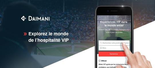 DAIMANI lance la première plateforme de vente numérique mondiale dédiée aux produits d'hospitalité VIP