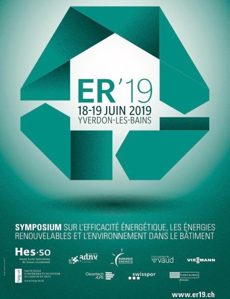 HEIG-VD et ses partenaires vous invitent à la 9ème édition du Symposium sur l'Efficacité Energétique (ER)